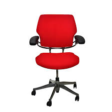 Humanscale Freedom Task Chair Uk by Humanscale Freedom Med Back Chair New Red Fabric U2013 2ndhnd Com