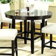 Mainstays 5 Piece Counter Height Dining Set Tall Table With Chairs Round
