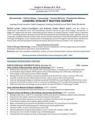 Healthcare Executive Resume Sample