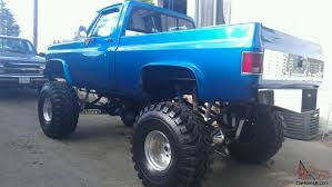 1980 C-10 CHEV 4x4 Custom Lifted Monster Show Truck