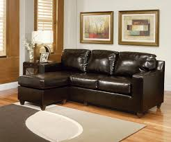 Brown Sectional Living Room Ideas by Swanky Small Lear Sectional Sofa For Chaise Ebbe As Wells As