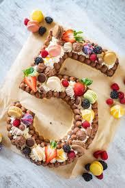 rezept wir feiern geburtstag mit einem number cake