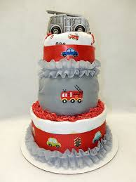Amazon.com : Fire Truck Diaper Cake : Baby Fire Truck Baby Shower The Queen Of Showers Journey Parenthood Firetruck Party Decorations Diaper Cakes Diapering General Information Archives Gifts Singapore Awesome How Do You Make For Monster Bedding Sets Bedroom Bunk Bed Boy Firetruckdalmation Cakebaby