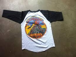 sold vintage molly hatchet 1984 tshirt tee t shirt medium old