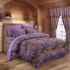 Regal fort 8pc Queen Size Woods Purple Camouflage Premium