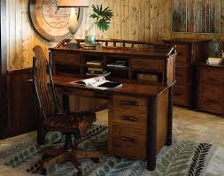 Image Of Ideas Decoration Rustic Style Office Funiture