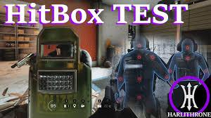 siege test hitbox reworked operation health test rainbow six siege patch