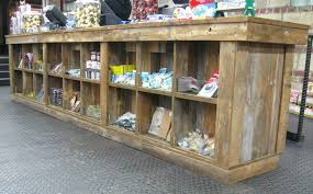 Rustic Wooden Display Ideas For Retail Stores Wood Store Reclaimed