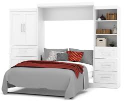 Queen Murphy Bed Kit by Pur White 126