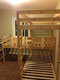 Triple Bunk Bed Plans Free by Triple Bunk Bed Plans Pdf Home Design Ideas