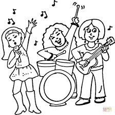 Full Size Of Coloring Pageband Pages Concert Rock Page Large Thumbnail