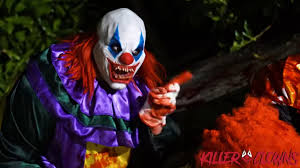 Halloween Scare Pranks by Killer Clown 9 Scare Prank Shadow Plays Viral Cypher