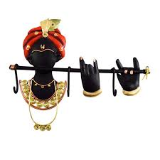 Decorative Key Holder For Wall by Wrought Iron Krishna Designed Handcrafted Key Holders Decorative