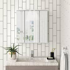60 cm x 64 cm spiegelschrank javier mit beleuchtung