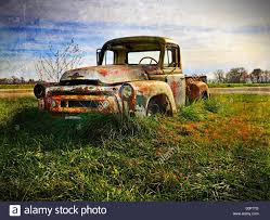 100 Country Truck Roadside Find Out In The Country This Truck Is Growing Old Stock