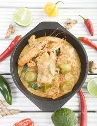 cuisine au lait de coco curry de fruits de mer au lait de coco pour 4 personnes recettes
