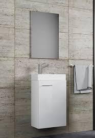 vcm waschplatz waschbecken schrank spiegel wc gäste toilette badmöbel klein schmal slito spiegel 3 tlg gäste wc waschplatz waschtisch slito