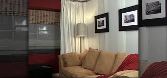 Room Divider Curtain Ikea by How To Install A Hanging Room Divider Ikea Kvartal Interior With