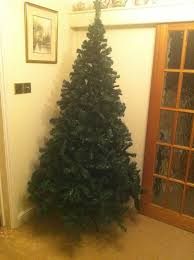 7ft Artificial Christmas Tree by Christmas Tree U0026 Stand 7ft 2 1m New 1000 Tip Bushy Premium