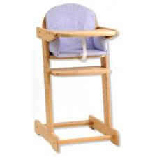 chaise bebe bois chaise haute de daillot par ludesign ludomania