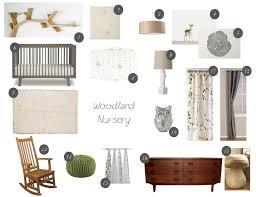Woodland Crib Bedding Sets by Baby Nursery Woodlands