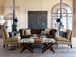 Nate Berkus Fabric Collection At Calico Contemporary Living Room