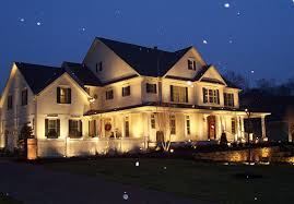 evening accent lighting security landscape columbus oh