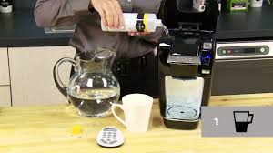 Descale Your KeurigR MINI Plus Brewer Keurig How To Official Video