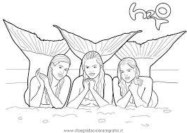 Photo Of Gallery Print Coloring H2O Mermaid Pages About Just Add Water Mermaids From