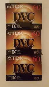 Good TDK Mini Digital Video Cassette (3 Pack Cassettes) - Chalks.com