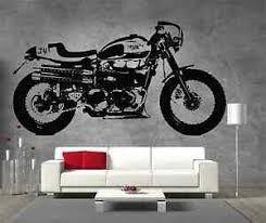 dekoration motorbike triumph bonneville t120 vinyl sticker