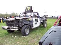 100 Demolition Truck Entry At The Spring Explosion Demo Derby In Illinois Hubby