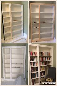 11 Lovely Chambre En Alcove Ikea Hack Billy Bookcase Modified To Look Like Built In Alcove