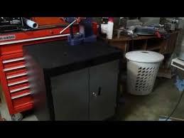 edsal promaxx heavy duty steel storage cabinet slow review youtube