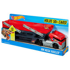 Hot Wheels Mega Hauler Truck - Walmart.com Hot Wheels Trackin Trucks Speed Hauler Toy Review Youtube Stunt Go Truck Mattel Employee 1999 Christmas Car 56 Ford Panel Monster Jam 124 Diecast Vehicle Assorted Big W 2016 Hualinator Tow Truck End 2172018 515 Am Mega Gotta Ckc09 Blocks Bloks Baja Bone Shaker Rad Newsletter Dairy Delivery 58mm 2012 With Giant Grave Digger Trend Legends This History Of The Walmart Exclusive Pickup Series Is A Must And