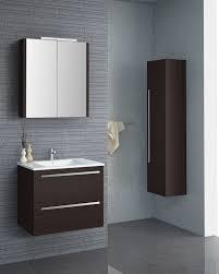 badmöbel set j bidar 3 teilig inkl waschtisch waschbecken farbe eiche schwarz