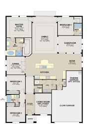 Ryland Homes Floor Plans Arizona by Inverness Floor Plan In Sawgrass Estate Calatlantic Homes
