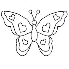 Butterfly Pictures With Hearts Shape