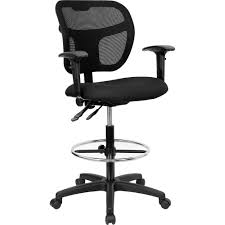 Hercules Big And Tall Drafting Chair by Drafting Chair With Arms Chair Design And Ideas