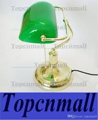 Bankers Lamp Green Glass Shade by Wholesale Vintage Bank Table Lamps Retro Brass Bankers Lamp Green