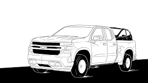100 Big Black Trucks Chevy Silverado Pickup Will Pay For GMs Electric Future