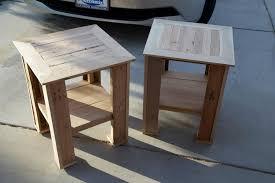 Diy Pallet End Table Gallery Furniture