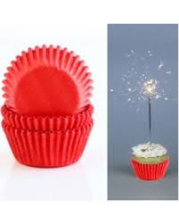 Amazing Spring Deals 200 Red Paper Cupcake Liners Baking Cups