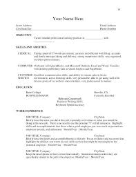 Typing Skills Resume A 5 Guide Example