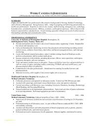 Rn Bsn Resume Or Examples For Nursing Students Of Resumes