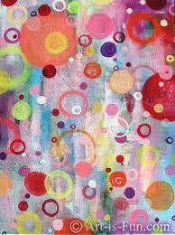 Fuzzy Abstract Art By Thaneeya