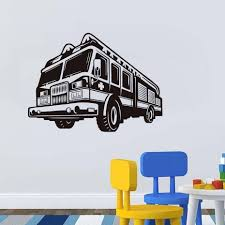 Cartoon Fire Truck Wall Stickers Nursery Removable Vinyl Adhesive 3D ... Ambulance Police Car Fire Truck And Tow Silhouettes In Trucks Foam Activity Kit Trucks And Birthdays Custom Department Fleet Decals Stickers Red White Fire Truck By Killslammer Redbubble Pinkfong Coloring Book Box Play For Kids Teacher Pack 30 Sticker Sets The Xl Wall Decal Nursery Rooms Boy Room Kilimart Ebabystore 3d 3 Dimensional Bus Engine Fireman Art Mural For Boys Guys