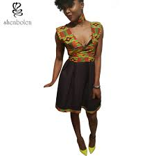 popular styles of dresses with ankara buy cheap styles of dresses