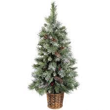 7 Ft White Pre Lit Christmas Tree by Accessories 7ft Pre Lit Christmas Tree Unlit Artificial