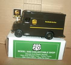 1 55 Scale Ups Delivery Truck Diecast Model 4 United Parcel 1 55 ...
